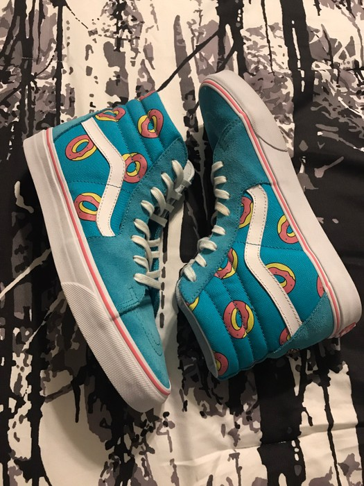 5effaf1e1cdca6 Vans Vans x Odd Future - Sk8-Hi Size 8 - Hi-Top Sneakers for Sale ...