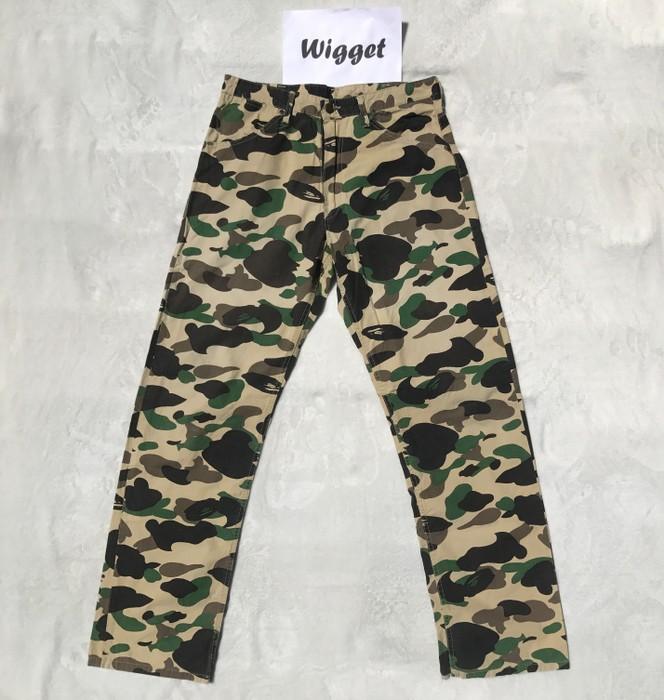 7d62a8f3041b Bape Bape Bathing ape Cargo Duck camo pants size L 32 vintage Size ...