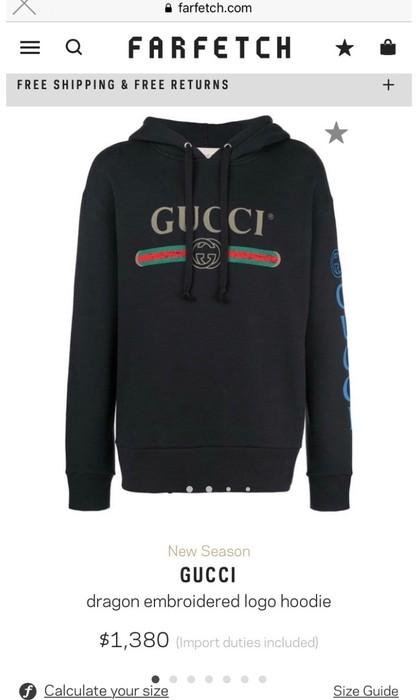d0fc1ff9130 Gucci Gucci Dragon Hoodie Size l - Sweatshirts   Hoodies for Sale ...