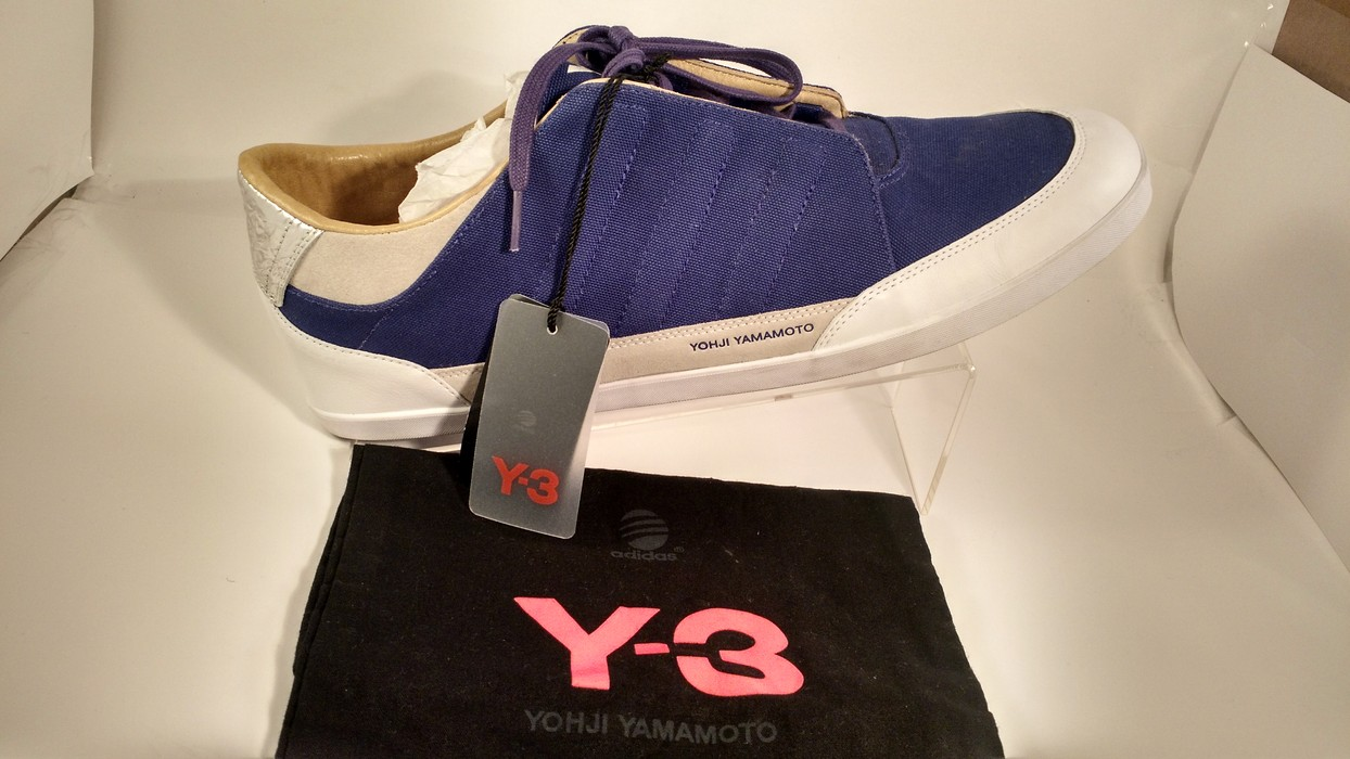 c39e3fcd66a28 Adidas Adidas Y-3 Yohji Yamamoto Honja Classic Low Sneakers Purple Size US  14