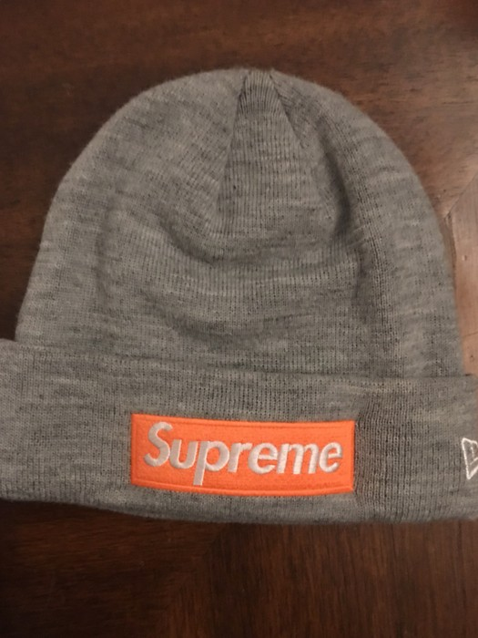 45c2d993c1f00 Supreme Box Logo Beanie FW17 Size one size - Hats for Sale - Grailed