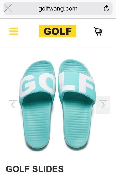 e87239c139a3 Golf Wang Golf Wang Slides Size 10 - Sandals for Sale - Grailed
