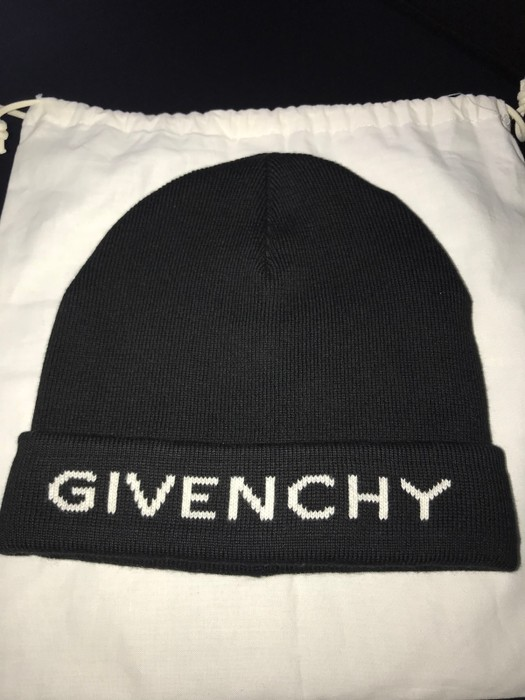 aa266c6b73d Givenchy Logo Beanie Size one size - Hats for Sale - Grailed