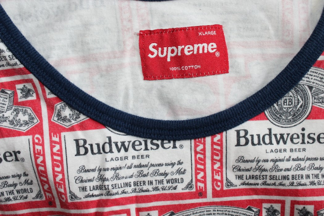 9b0a17b1ff5 Supreme Budweiser Tank Size xl - Tank Tops   Sleeveless for Sale ...