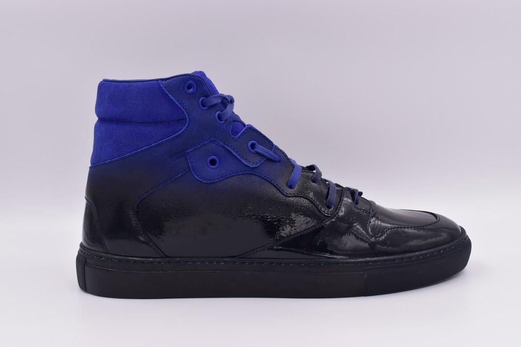 39d21e5ef447 Balenciaga Balenciaga Dipped Suede Leather Electric Blue High Size US 10    EU 43