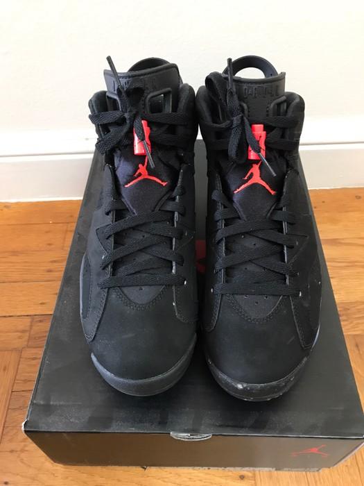 c9553426fac32f Jordan Brand Nike Air Jordan VI 6 Infrared Black Size 8 - Hi-Top ...
