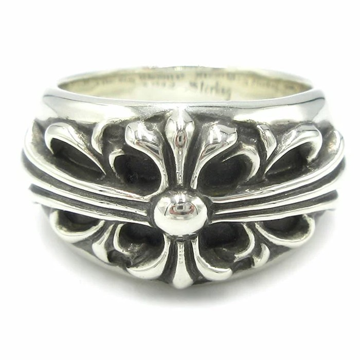 a95ff4ec3d2 Chrome Hearts Ring Silver 925sv Ch Fl Cross Size One