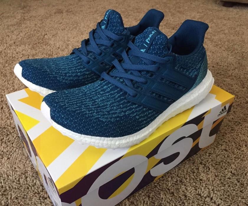 8f037e5d0d968 Adidas Adidas x Parley Ultra Boost 3.0 Navy Blue BB4762 Size US 9.5   EU 42
