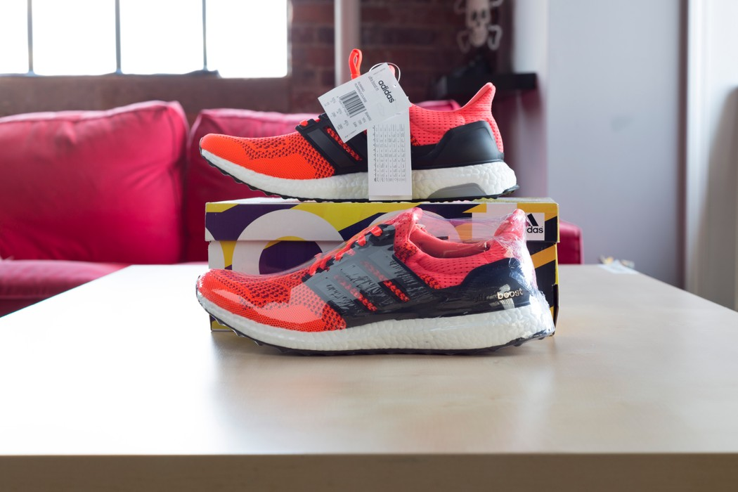 b8173aae202d8 Adidas Ultra Boost 1.0 Solar Size 11 - for Sale - Grailed