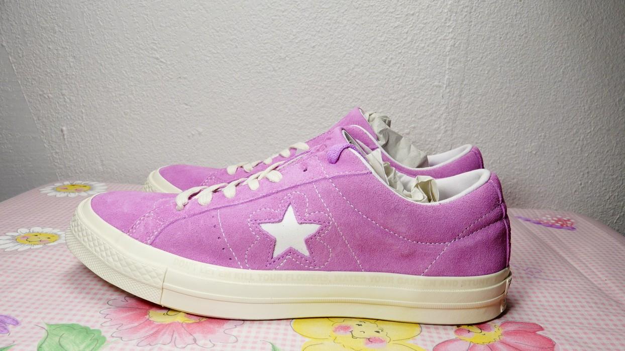 4ff3c109fe6f Golf Wang. CONVERSE ONE STAR X GOLF LE FLEUR TYLER THE CREATOR fuschia  purple size ...