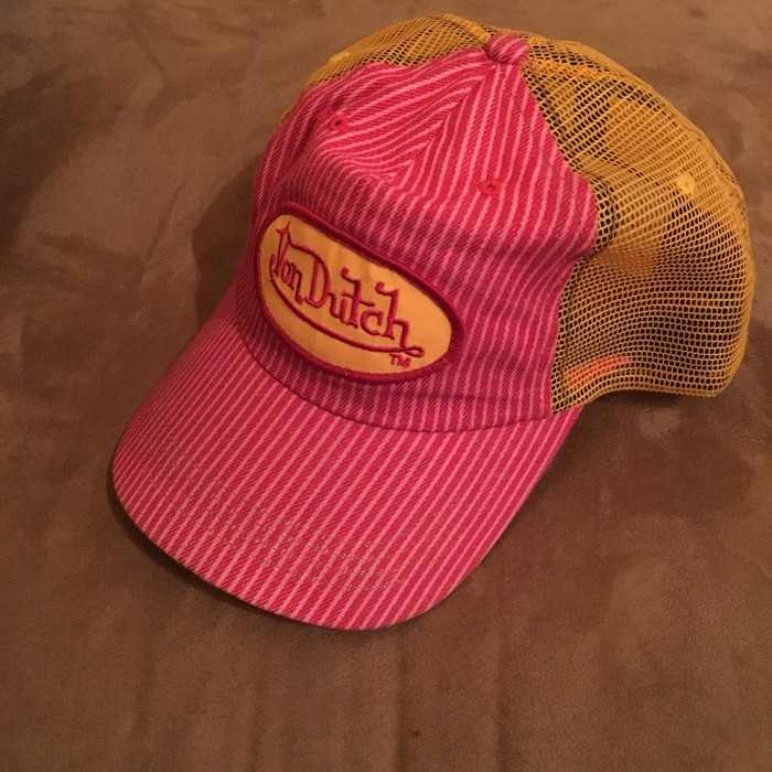 fca05d0f3d6e4 Von Dutch Von Dutch Striped Snapback Hat Size one size - Hats for ...