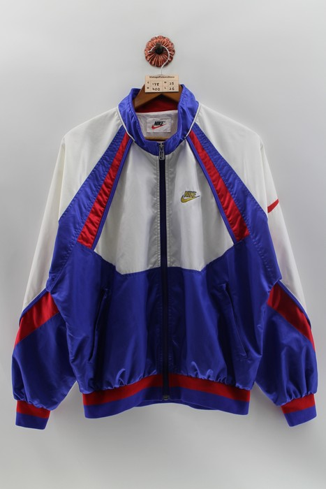 8eec80736e5b70 Nike Vintage NIKE SWOOSH Windbreaker Jacket Large 90 s Nike ...