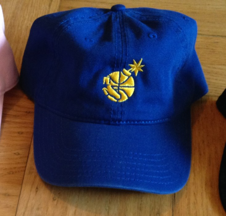 861306abafa The Hundreds The Hundreds Golden State Warriors Rare Limited Edition SF  Exclusive Dad Hat Size ONE