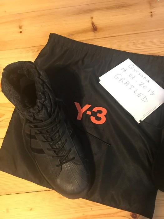 415d79bab7103 Y-3 Y-3 Adidas Superstar Snow Model - Yohji Yamamoto Size 11.5 - Hi ...