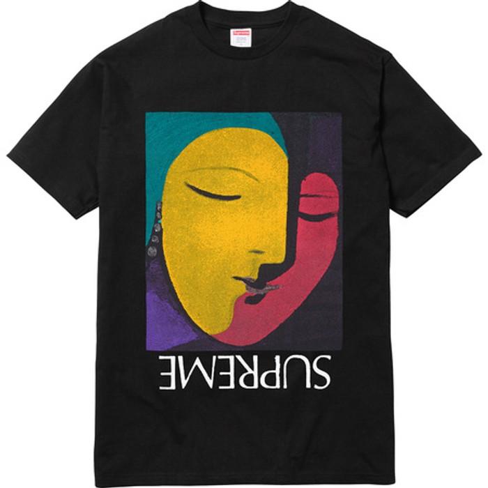 aecad2e1e6fd Supreme Supreme Black Pablo Picasso Abstract Tee Size US L   EU 52-54