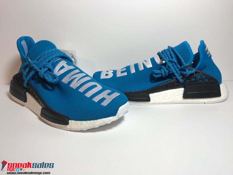 ab8a37ccf948 Adidas Adidas x Pharrell Williams Human Race NMD Blue Size US 10   EU 43