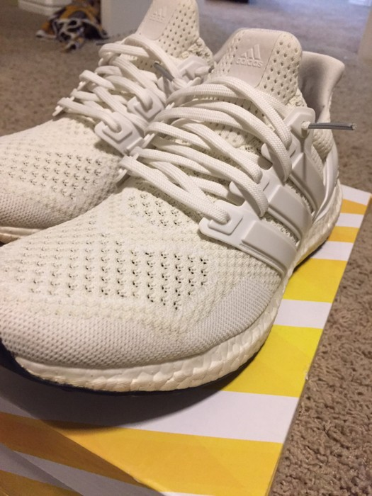 13ce18ad7c4ff Adidas Triple White Ultraboost 1.0s Size 9.5 - Low-Top Sneakers for ...
