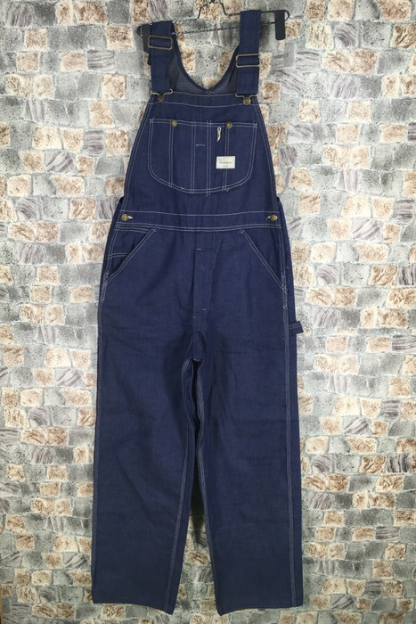 81ba65913dd Vintage Vintage 80 s SEARS Overall Denim Jeans Union Made Style Workwear  Jumpsuit Waist 34 Size US