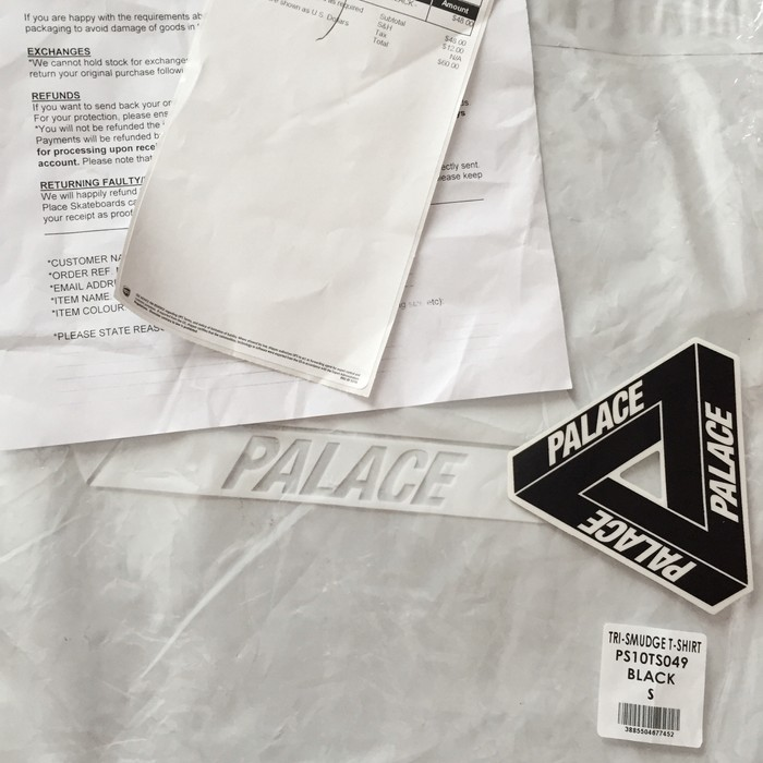 e075a8570938 Palace Palace Skateboards Tri-Smudge T-Shirt Size s - Short Sleeve T ...