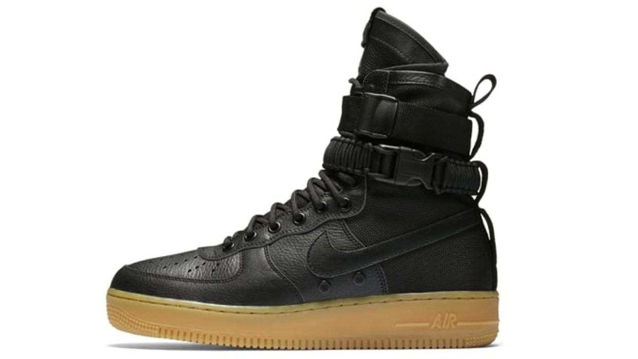 official photos 97911 634ea Nike Nike Air Force One Special field Winterized Winter Sneaker Boot Black  Men s 11.5 44.5 Sneakerboot