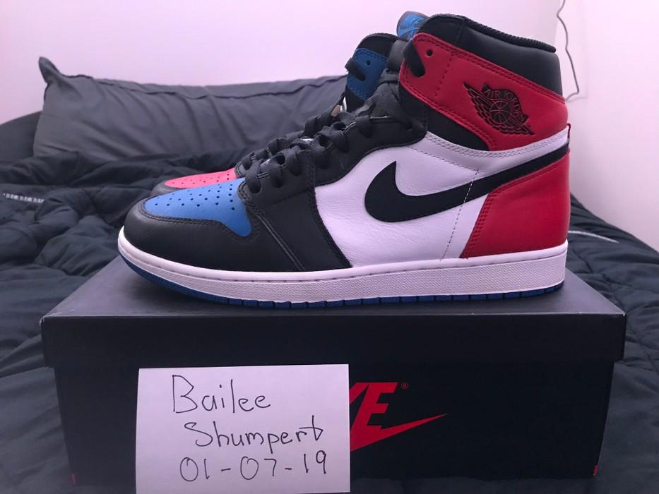 los angeles eedfc 91c97 Nike Air Jordan 1 Retro Top 3 Size US 12   EU 45