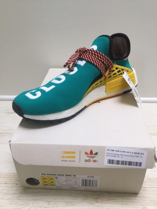 3f3e0da15 Adidas Adidas Human Race NMD TR Sun Glow Size 10.5 - Low-Top ...