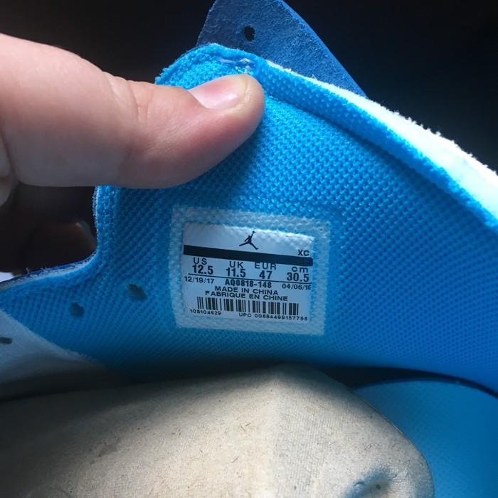 c2826665d45e08 Jordan Brand Air Jordan 1 X OFF-WHITE NRG University Blue Size US 12.5