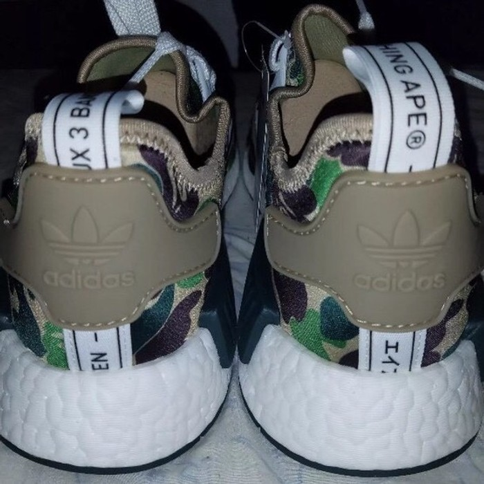 36e7957b8695f Bape NMDs Bape Size 9.5 - Low-Top Sneakers for Sale - Grailed