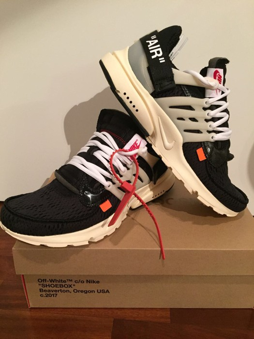 the best attitude 17f44 8b443 Nike Off White x Nike Air Presto (AA3830-001) us10 Size US 10