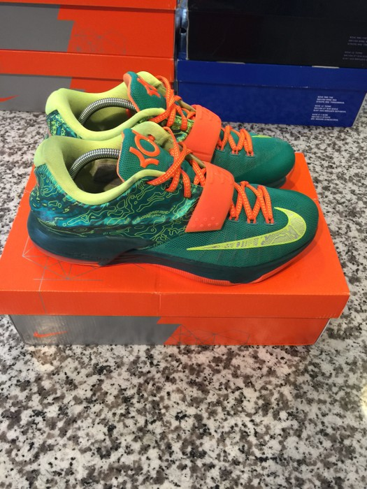 buy popular 72f79 30993 Nike Nike KD 7 Weatherman Kevin Durant Size 10 Size US 10   EU 43 -