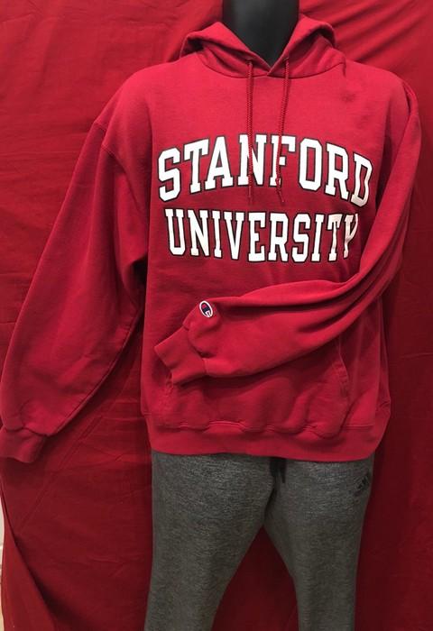 6407e1639ed7 Champion. VTG Champion ECO Stanford University hoodie. Size  US L   EU 52-54  ...