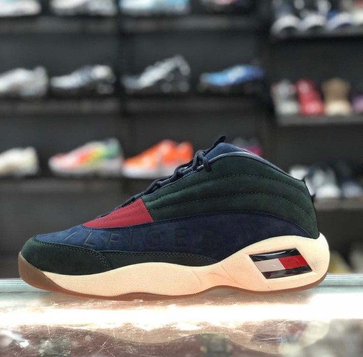 16c2b3d5c Tommy Hilfiger KITH X TOMMY HILFIGER LUX BASKETBALL SNEAKER FOREST GREEN    NAVY Size US 10.5