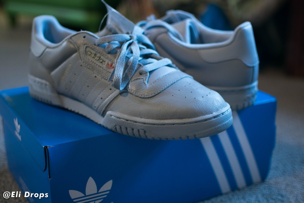 e3df6b1f4880c Adidas Kanye West Yeezy Powerphase Grey (10.5) IN HAND Size 10.5 ...