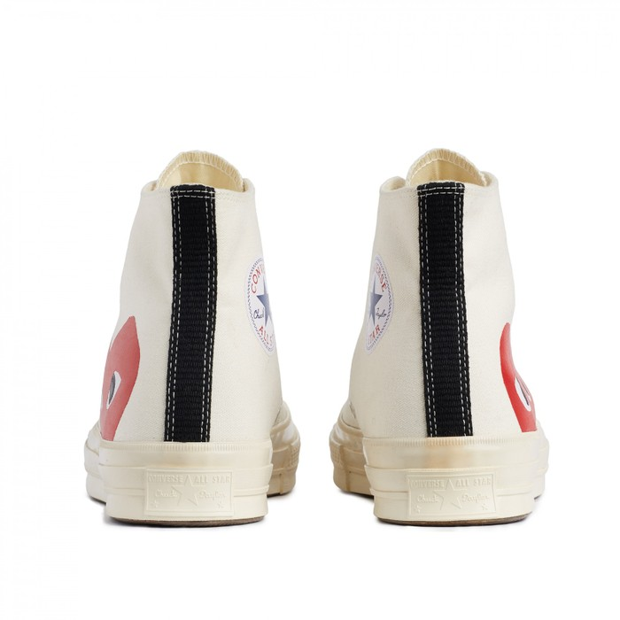 a414a5e5685 Converse PLAY x Converse Chuck Taylor® -  Hidden Heart  High Top Sneaker  Size
