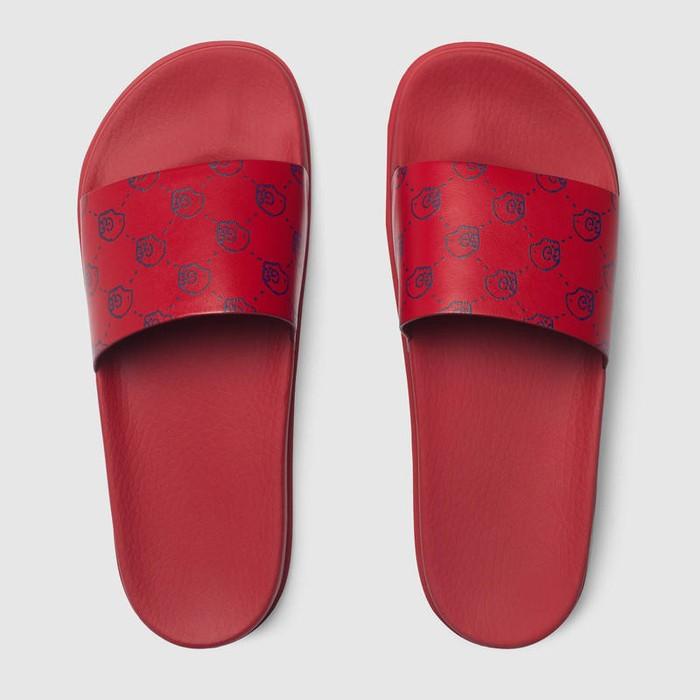 430bfa398 Gucci. Gucci Ghost Slide Sandals in Red Skull Monogram. Size  US 9.5   EU 42 -43