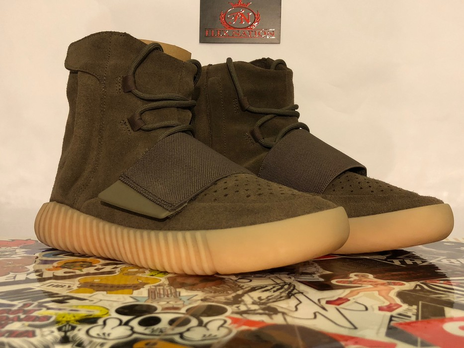 590ee99d31226 Adidas Kanye West Adidas Yeezy Boost 750 Light Brown Gum (Chocolate ...