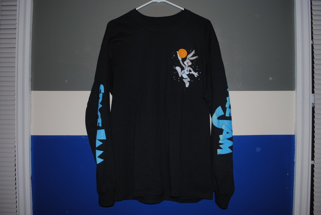 Rue 21 Space Jam Looney Tunes Tee Size L Long Sleeve T Shirts For