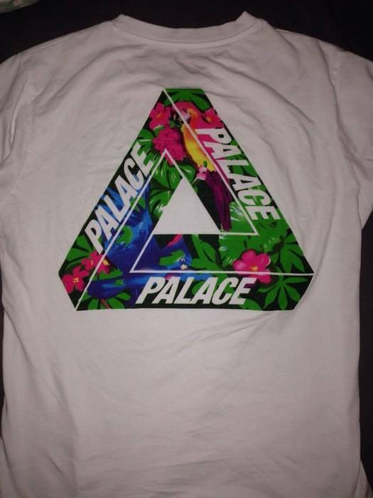 fac8db7bac26 Palace Palace tri ferg floral   Birds Tee Size l - Short Sleeve T ...