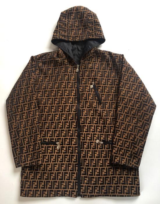 d6a08736f6f Fendi. Fendi Zucca Monogram Reversible Jacket Made In Italy not gucci  balenciaga louis vuitton supreme saint laurent ...