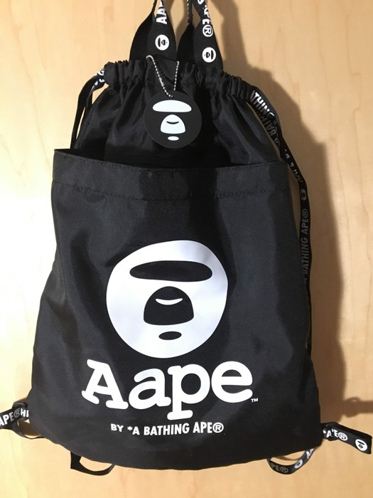 0faccd93f989 Bape Aape By  A Bathing Ape® Drawstring Bag Size one size - Bags ...