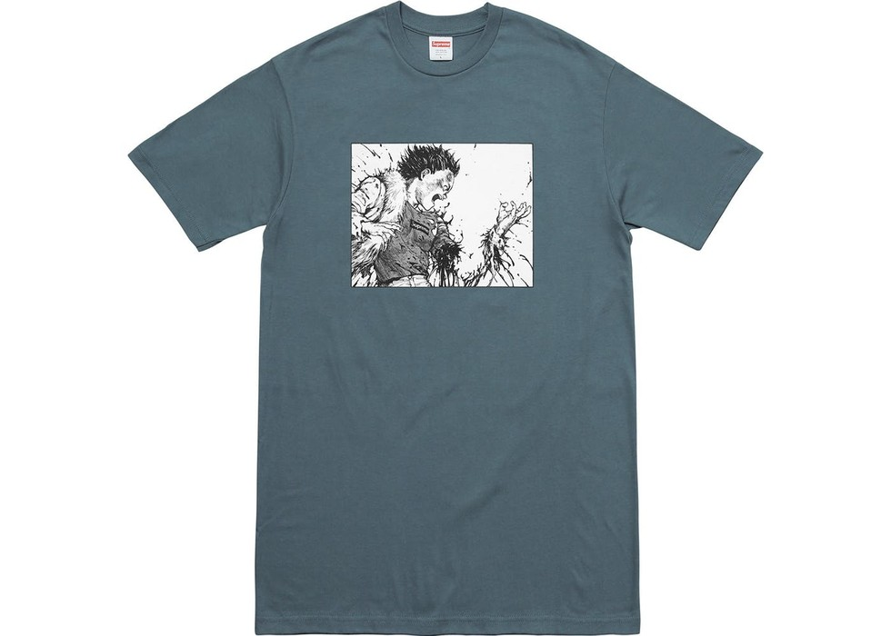 7d3e253450b Supreme AKIRA Arm Tee Dusty Blue Size m - Short Sleeve T-Shirts for ...