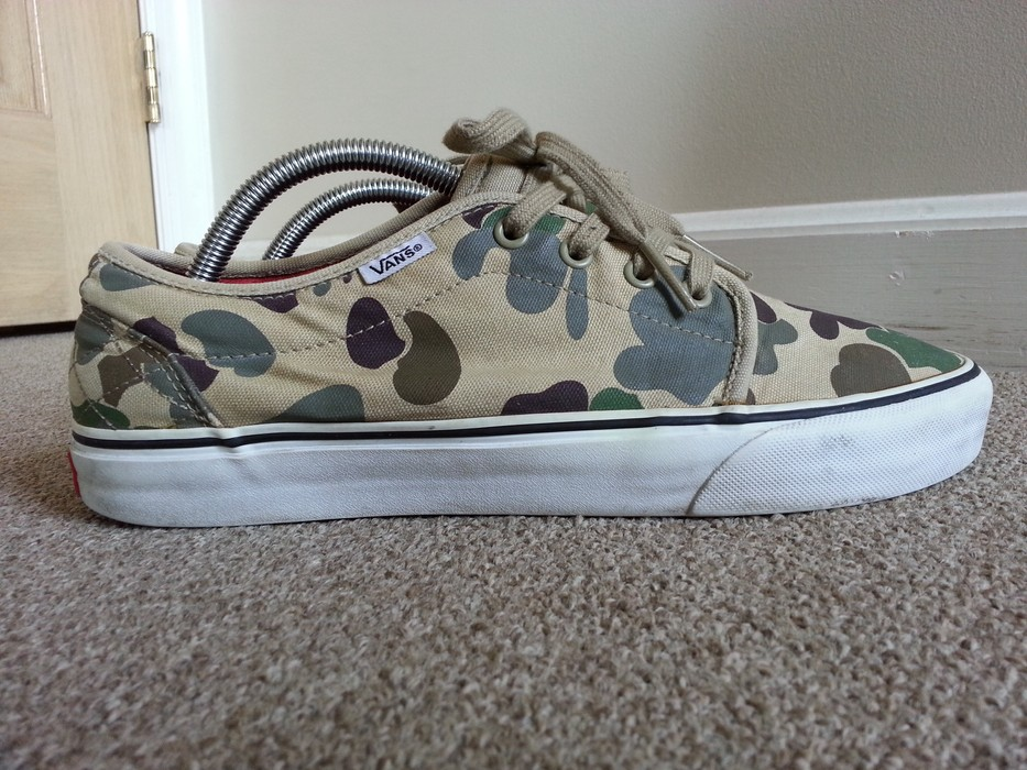 46963ade0c Supreme duck camo vans Size 9.5 - for Sale - Grailed