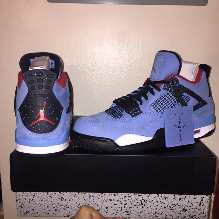 9bd0bb8f8f2b Nike Travis Scott x Air Jordan 4 Cactus Jack Size 11 - Hi-Top ...