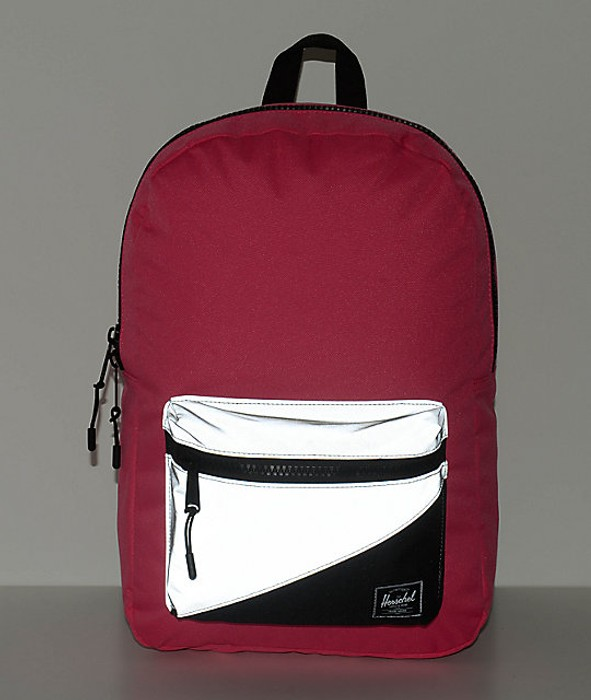 b545d9abb6c Herschel Supply Co. Settlement Neon Pink 3M Reflective 17L Backpack Size  ONE SIZE - 1