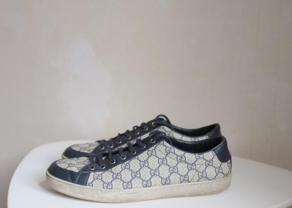 f4e6e6a50051 Gucci Brooklyn GG Supreme Canvas Sneakers Size 11 - Low-Top Sneakers ...