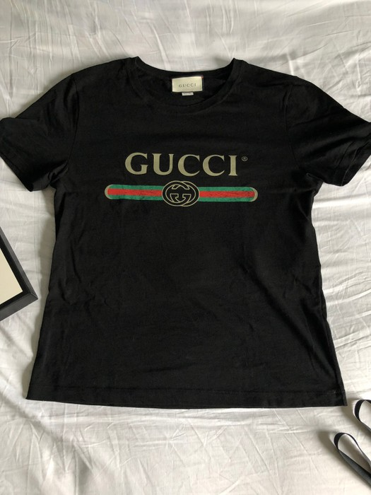 4d417306216 Gucci Oversized Washed T-shirt With Gucci Logo Size m - Short Sleeve ...