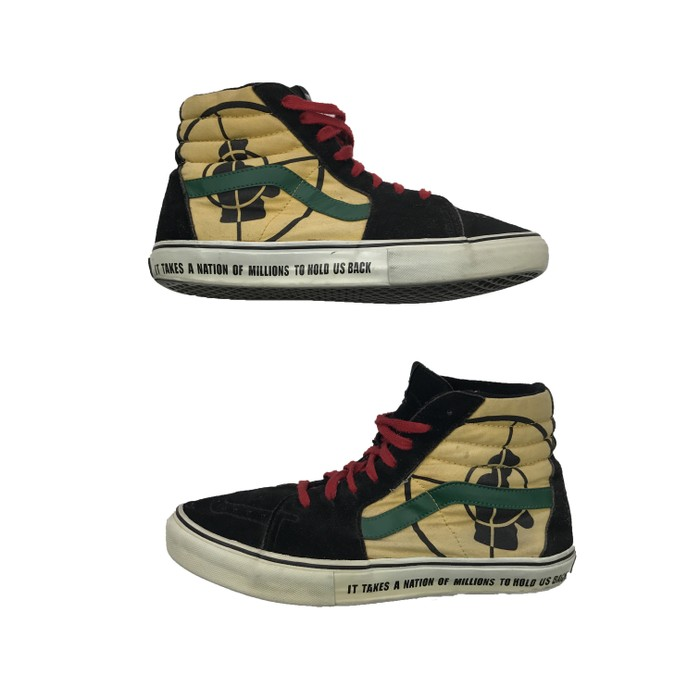 0987e6bd29 Supreme Public enemy vans Size 10.5 - Hi-Top Sneakers for Sale - Grailed