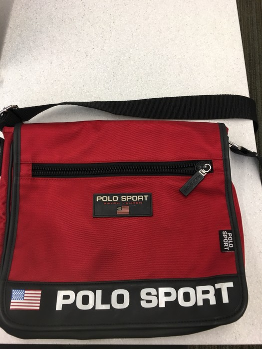 c9aac1366d Polo Ralph Lauren Vintage Polo Sport Side Bag Size one size - Bags ...