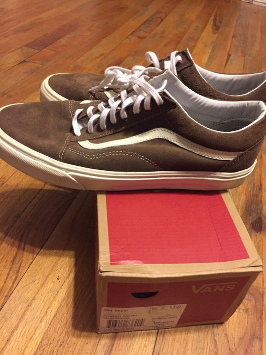 085a1cdda1 Vans Rare Vintage Shitake Suede Old Skool Size 11 - Low-Top Sneakers ...