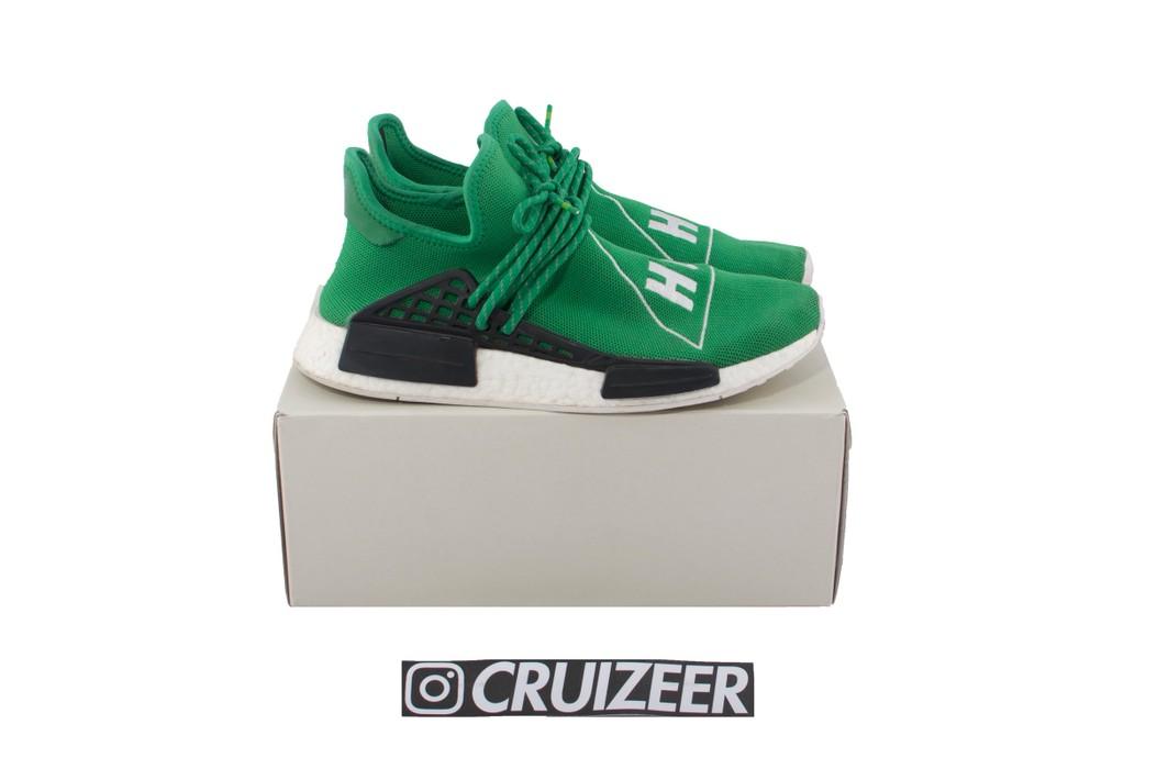 5c71281cb Adidas Adidas NMD R1 X Pharell Williams HUMAN RACE Green (US 9) Size ...